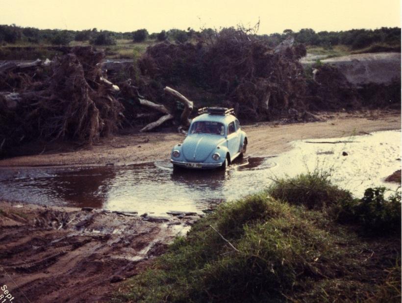 VW crosses Kenya  river 81