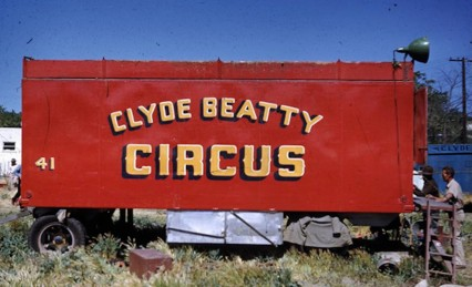 Clyde Beatty Circus conveyance copy