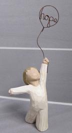 Hope figurine use?